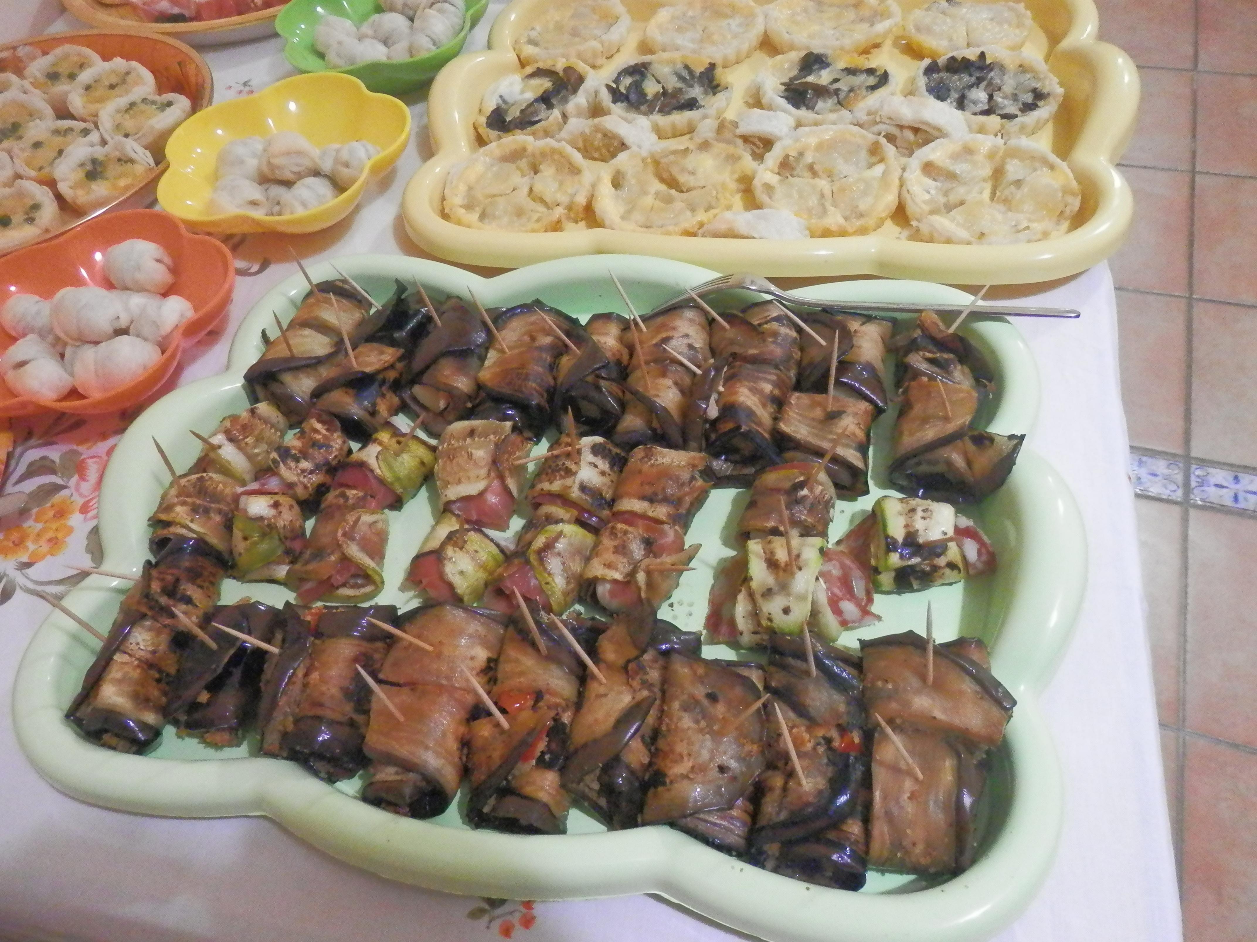 Oggi salato: buffet per il 4°compleanno di marta le due cucine