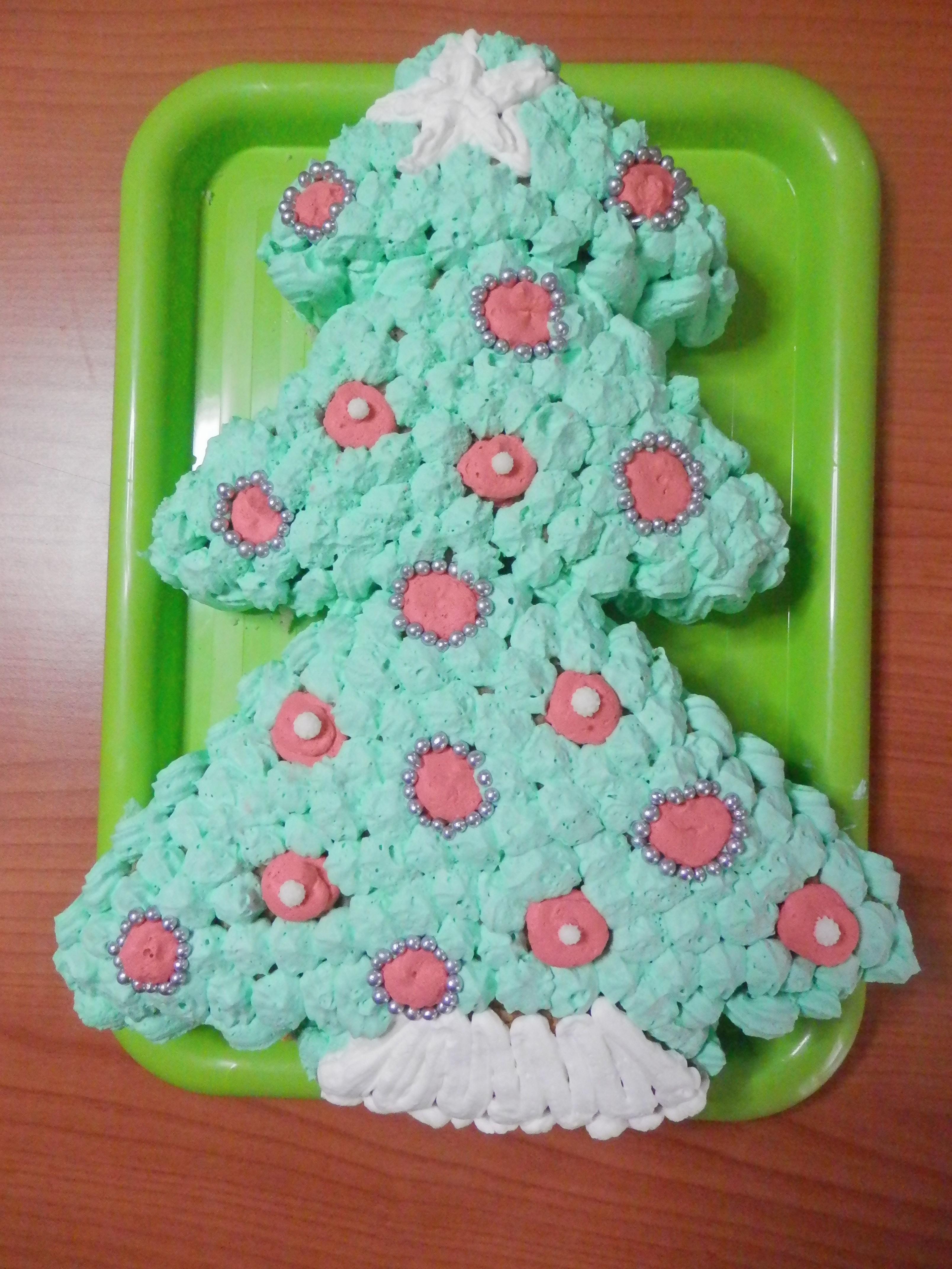 Torte Decorate Per Natale albero di natale o torta? | le due cucine