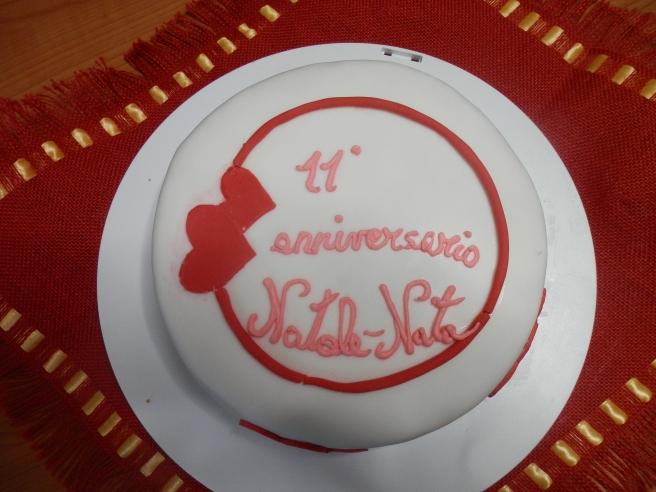 Torta per il nostro 11 anniversario di matrimonio le for Decorazione torte per 50 anni di matrimonio
