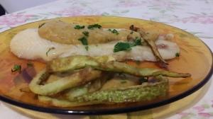 merluzzo in umido saporito e chips di zucchine (19)
