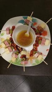 spiedini sfiziosi con crema di miele ed aceto (3)