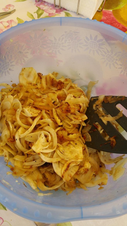 insalate di finocchi grigliata